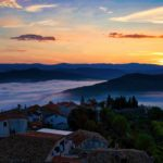 croatia tour packages - Food Tour of Istria sunset in motovun istria croatia - Terra Magica Croatia