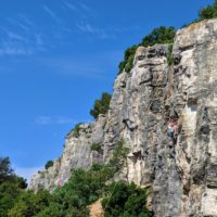 rock climbing in Rovinj Croatia