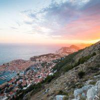 sunset hiking in dubrovnik croatia - Terra Magica Croatia - adventure holiday Croatia