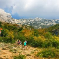paklenica croatia hiking tour - Terra Magica Croatia - adventure holiday Croatia