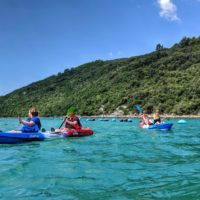 sea kayaking Croatia - kayak trip lim fjord croatia - Terra Magica Croatia - kayaking croatia