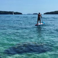 sand up paddle boarding Croatia - porec istria croatia - Terra Magica Croatia - adventure holiday Croatia