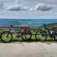 Gorgeous view of Istrian countryside on our e-bike tour
