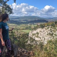 Hiking the Seven Waterfalls Trail in Buzet Istria